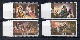 Malta - 1979 - Natale - 4 Valori Con Bordo Di Foglio - Nuovi - Vedi Foto - (FDC15609) - Malta