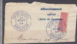 MADAGASCAR N° 88 TIMBRE COUPE DIEGO SUAREZ 1904 - Madagascar (1889-1960)