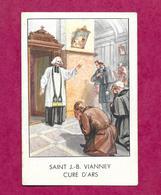 IMAGE PIEUSE...SAINT J.B. VIANNEY, Curé D'ARS....2 Scans - Devotion Images