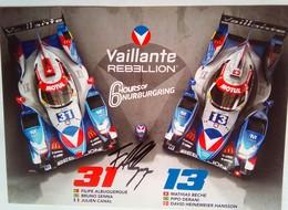 Vaillante   Felipe Albuquerque - Handtekening