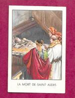 IMAGE PIEUSE...La Mort De SAINT ALEXIS ....2 Scans - Devotion Images