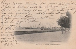 *** 17  *** ROYAN  La Jetée Et Les Promenades - Bateaux De Pêche - TTB Timbrée Précurseur - Royan