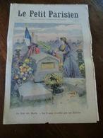 Le Petit Parisien N°1030-1er Novembre 1908-le Jour Des Morts-la France N'oublie Pas Ses Enfants - Newspapers