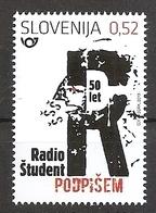 SLOVENIA 2019,50 YEARS OF RADIO STUDENT,MNH - Slovenia