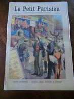 Le Petit Parisien N°1031-8 Novembre 1908-élection Présidentielle-curieuses Mœurs électorales En Amérique - Newspapers