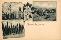 Souvenir De Smyrne - Gruss - 3 Views - Turkey Turquie - Turkey