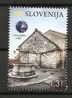 SLOVENIA 2019,TURISM,TURISMUS,THE KARST,STONE HAUSE IN ŠTANJEL,MNH - Slovenia