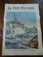 """Le Petit Parisien N°1035-6 Décembre 1908-le Cuirassé""""condé"""" Est Sauvé-après Vingt-quatre Heures D'efforts Surhumains - Newspapers"""