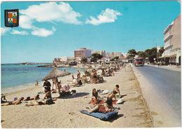 Mallorca - Ca'n Pastilla - AUTOBUS/COACH, MOTORCYCLE - Playa -  (Espana/Spain) - Toerisme