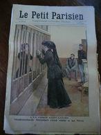 Le Petit Parisien N°1039-13 Décembre 1908-à La Prison Saint-Lazare-mademoiselle Steinheil Rend Visite à Sa Mère - Newspapers