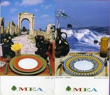 Vieux Papiers - Menu - Liban - Mea - - Menus