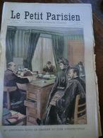 Le Petit Parisien N°1037-20 Décembre 1908-Mme Steinheil Dans Le Cabinet Du Juge D'instruction - Newspapers
