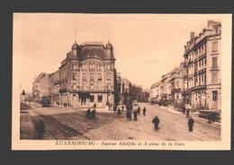 Luxembourg - Avenue Adolphe Et Avenue De La Gare - Tram / Tramway - Animation - Luxembourg - Ville