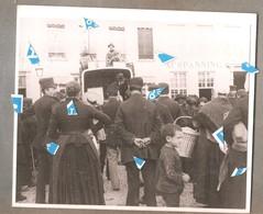 Lier Foto Photo Oude Reproductie Haafkoopdag Of Mark  Te Lier Rond 1900 Foto Op Karton - Lier