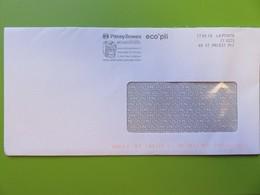 EMA - Pitney Bowes - Illustration D'une Machine à Affranchir - Ecopli - 17.05.19 - Storia Postale