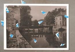 Lier Foto Photo Oude Reproductie St Jans Brug Rond 1900 Foto Op Karton 200mm X 145 Mm - Lier