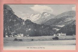 OLD POSTCARD SWITZERLAND -    SILS MARIA - GR Grisons