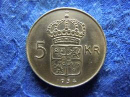 SWEDEN 5 KRONOR 1954 POS. B, KM829 - Sweden