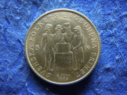SWEDEN 5 KRONOR 1959, KM830 - Sweden