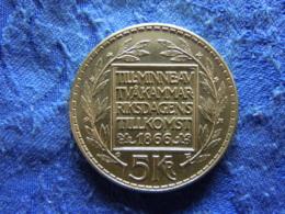 SWEDEN 5 KRONOR 1966, KM839 - Sweden