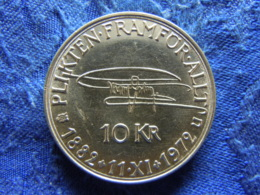 SWEDEN 10 KRONOR 1972, KM847 - Sweden
