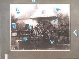 Lier Foto Photo Oude Reproductie Molen Watermolen Op De Nete Volmolen Rond 1900 Foto Op Karton 170 Mm X135 Mm - Lier