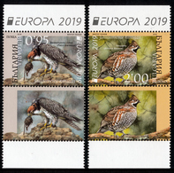 "BULGARIA/Bulgarien EUROPA 2019 ""National Birds"" Set 2v+Label And Minisheet** - 2019"