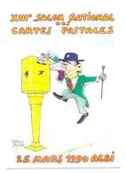 Albi Toulouse-Lautrec Illustrateur Dadzu 13e Salon De La Carte Postale Dessins De Presse 25 Mars 1990 Albi - Albi