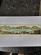 Suisse (TI)  Lugano // Separated Double Card //. Hotel Bristol - Alex Beha Director 1904 Rare - TI Ticino