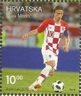 HR 2019-1368 SPORT LUKA MODRIĆ. HRVATSKA CROATIA, 1 X 1,85. MNH - Croatia