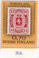 """PIA - FINLANDIA - 1975 : """"NORDIA 1975"""" - Esposizione Filatelica Dei Paesi Del Nord - (Yv 727) - Finland"""