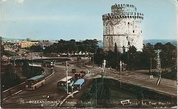 X117969 GRECE GREECE SALONIQUE THESSALONIQUE THESSALONIKI LA TOUR BLANCHE BUS AUTOBUS - Greece