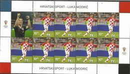 HR 2019-1368 SPORT LUKA MODRIĆ. HRVATSKA CROATIA, MS. MNH - Croatia
