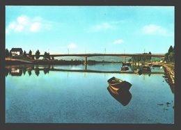 Remich - La Moselle Et Le Pont - Bateau - Remich