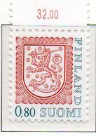 PIA - FINLANDIA - 1976 : Uso Corrente - Leone Rampante Nuovo Tipo - (Yv 741) - Finland