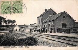 Belgique - Maarkedal - Louise-Marie - Statie - Gare - Petit Pli Vertical - Maarkedal