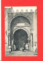 KAIROUAN Cpa Animée La Porte De Tunis   21 ND - Tunisie