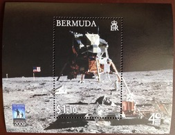 Bermuda 2009 Space Exploration Minisheet MNH - Bermuda