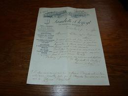 FF6  Document Commercial Facture Lambotte & Clerfeyt Laboratoire De Produits Organothérapiques Bruxelles 1901 - Belgique