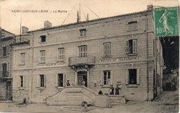 SAINT JUST SUR LOIRE  - La Mairie  (114069) - Saint Just Saint Rambert