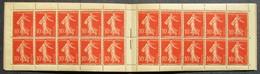 Semeuse 10 C. Maigre 135 Carnet C1 Superbe - Pas Cher - 1906-38 Säerin, Untergrund Glatt