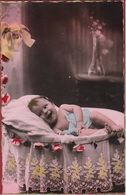 Carte Fantaisie Fantasiekaart Baby Bebe Portrait Fantasie Child Enfant Kind - Portraits