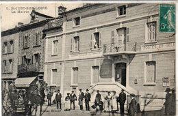SAINT JUST SUR LOIRE  - La Mairie - Postes Et Télégraphes  (114071) - Saint Just Saint Rambert