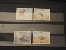 ANGOLA - 1992 RAZZE 4 VALORI - NUOVI(++) - Angola