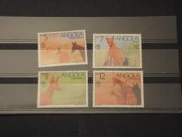 ANGOLA - 1991 CANI 4 VALORI - NUOVI(++) - Angola