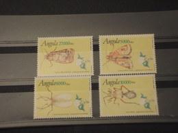 ANGOLA - 1994 INSETTI 4 VALORI - NUOVI(++) - Angola