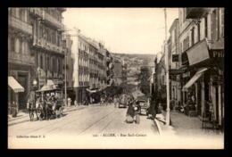 ALGERIE - ALGER - RUE SADI-CARNOT - Alger