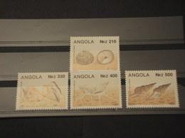 ANGOLA - 1993 CONCHIGLIE 4 VALORI - NUOVI(++) - Angola