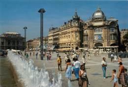 MONTPELLIER  Place De La Comedie  19  (scan Recto-verso)MA1935Bis - Montpellier
