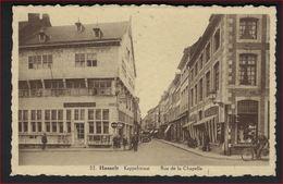 Postkaart Van  HASSELT ; KAPPELSTRAAT , RUE DE LA CHAPELLE ; Staat Zie 2 Scans ! - Hasselt